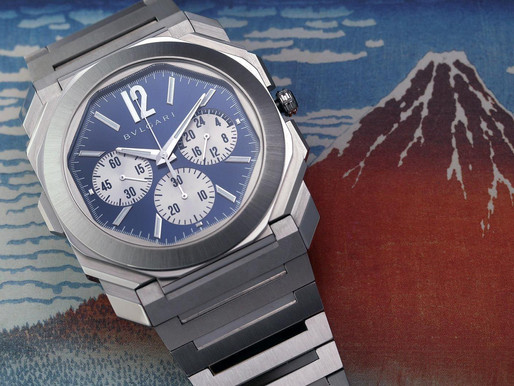【LVMH Watch Week 2021】BVLGARI  Octo Finissimo 超薄腕錶 運動風格