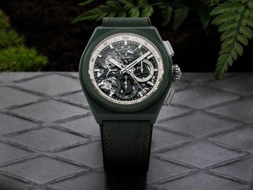 Go Green!綠色腕錶特集
