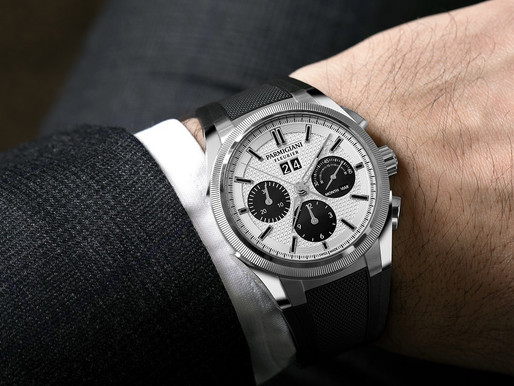 【高雅銀黑配】PARMIGIANI FLEURIER Tondagraph GT雙色錶盤 加入時尚熊貓熱
