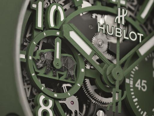 【保育犀牛】HUBLOT Big Band Sorai陶瓷限量腕錶