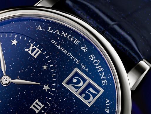 【腕上的超級月亮】A LANGE & SOHNE Little Lange 1 Moon Phase 蒼穹夜空的美妙月色