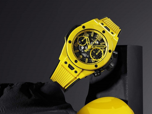 【WATCHES & WONDERS 2021】Yellow Magic!HUBLOT首枚鮮黃色陶瓷腕錶