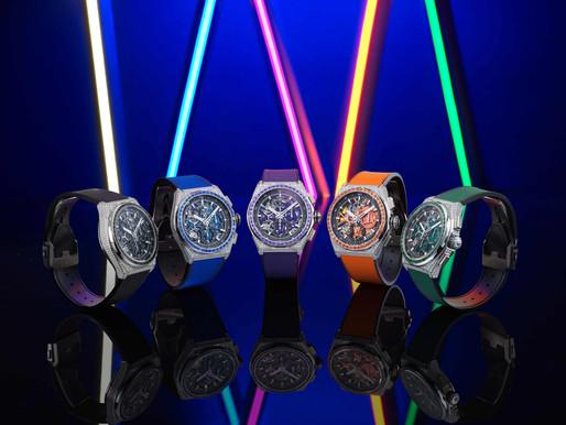 【WATCHES & WONDERS 2021】由機芯到寶石和錶帶都完美配色! ZENITH DEFY 21 SPECTRUM光譜系列