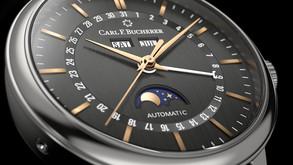 【人月兩團圓】浪漫月相 寶齊萊Carl F. Bucherer全日曆腕錶