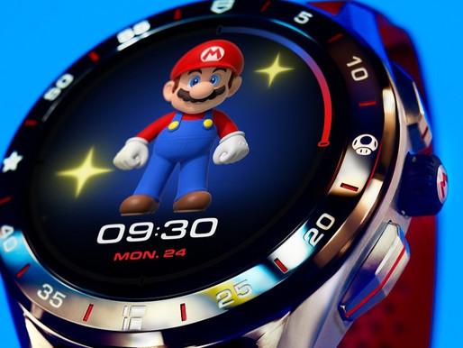 【集體回憶】TAG HEUER 與Super Mario 聯乘限量版Connected 智能腕錶