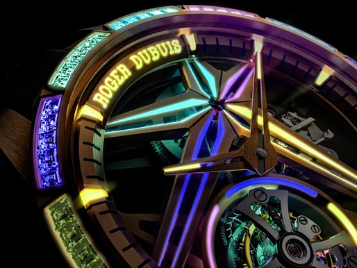 【WATCHES & WONDERS 2021】ROGER DUBUIS Excalibur Glow Me Up腕錶,鑽石都識得發光?