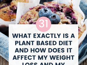 What exactly is a plant based diet and how does it affect my weight loss and my health?