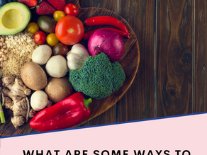 What are some ways to lose weight from the summer and keep it off with nutrition