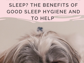 Are you suffering from insomnia and need more sleep? The benefits of good sleep hygiene and to help
