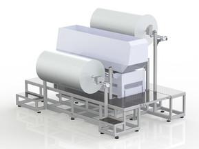Machine, fixture & operator platform