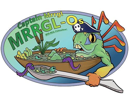 Mrrgl-Os Art Print