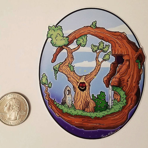 Moontree Sticker