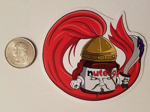 Nutella the Hun Sticker