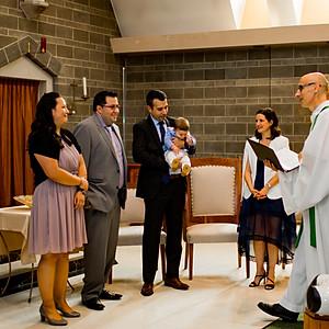 Evan's Baptism
