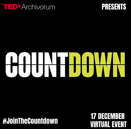 Countdown TEDxArchivorum December Edition