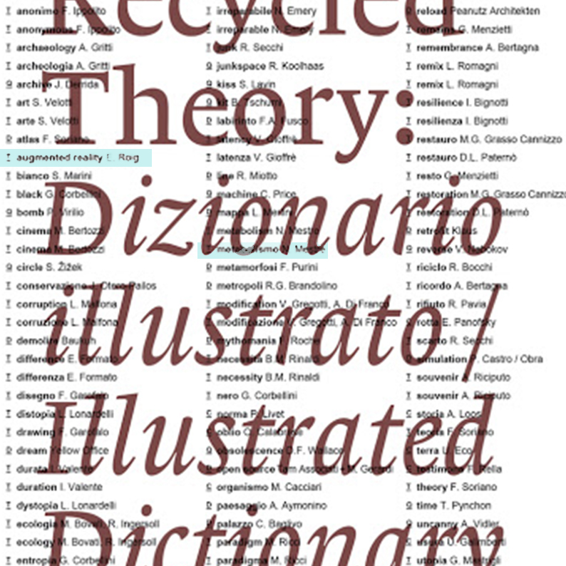 Recycled Theory