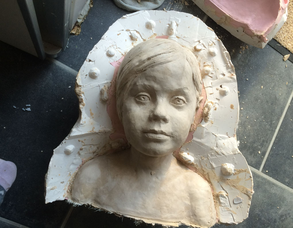my daughter's bust