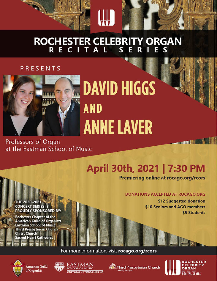 RCORS Presents David Higgs and Anne Lave