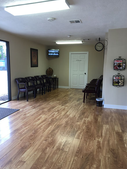 urgent care, office waiting room, walk-in clinic