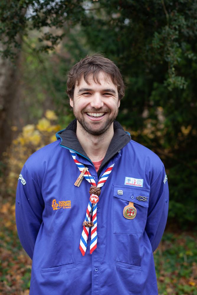 Gaëtan Monot, Délégué national Éducation Pédagogie Activités Scouts et Guides de France