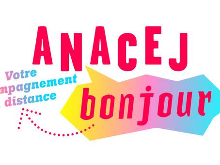 """L'Anacej crée un nouveau service à distance """"Anacej bonjour"""""""