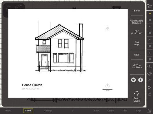 Arrette Scale: desenhos precisos para o sistema iOS
