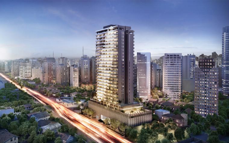 Projetos de empreendimentos imobiliários adotam conceitos de sofisticação diferenciados.