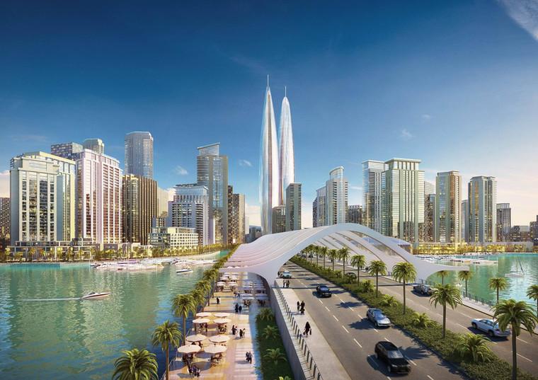 Investidores anunciam torres gêmeas mais altas do mundo em Dubai