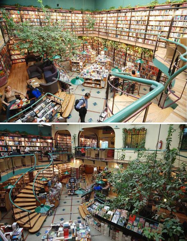 As 20 livrarias mais bonitas do mundo