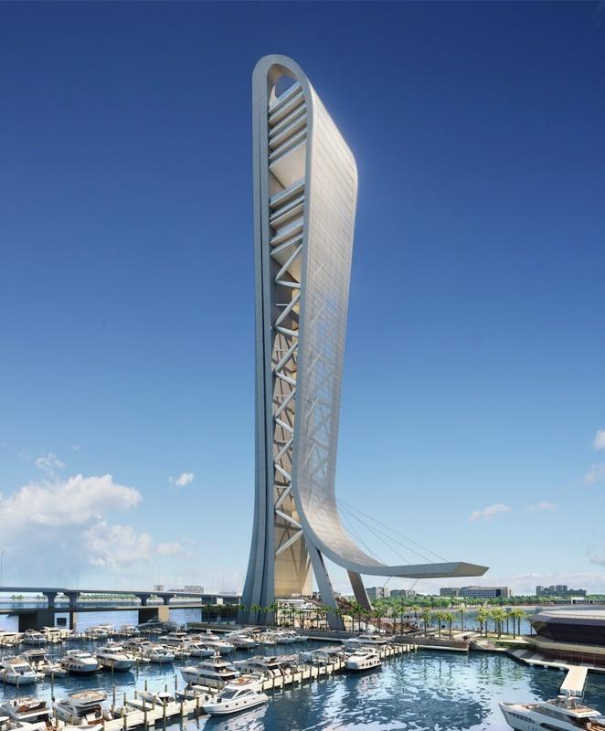 Iniciada a construção da torre mais alta de Miami