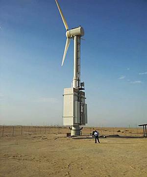 Arquiteto cria turbina eólica que produz água potável