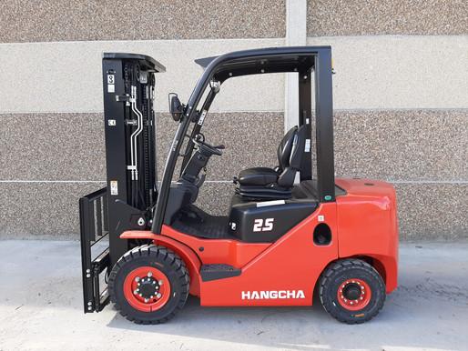 Le chariot élévateur diesel 2.5 tonnes HANGCHA