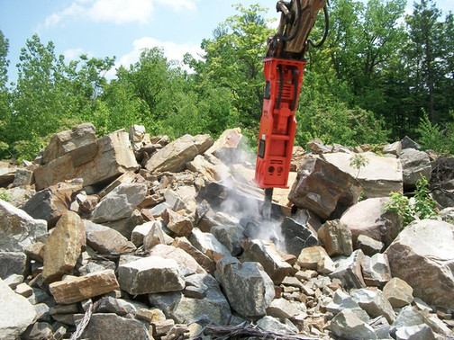 Les brise roche hydrauliques NPK