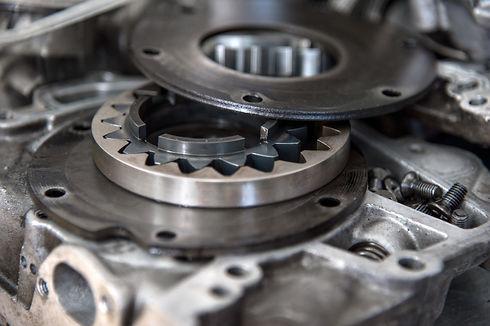 Disassembled mechanical high-pressure di