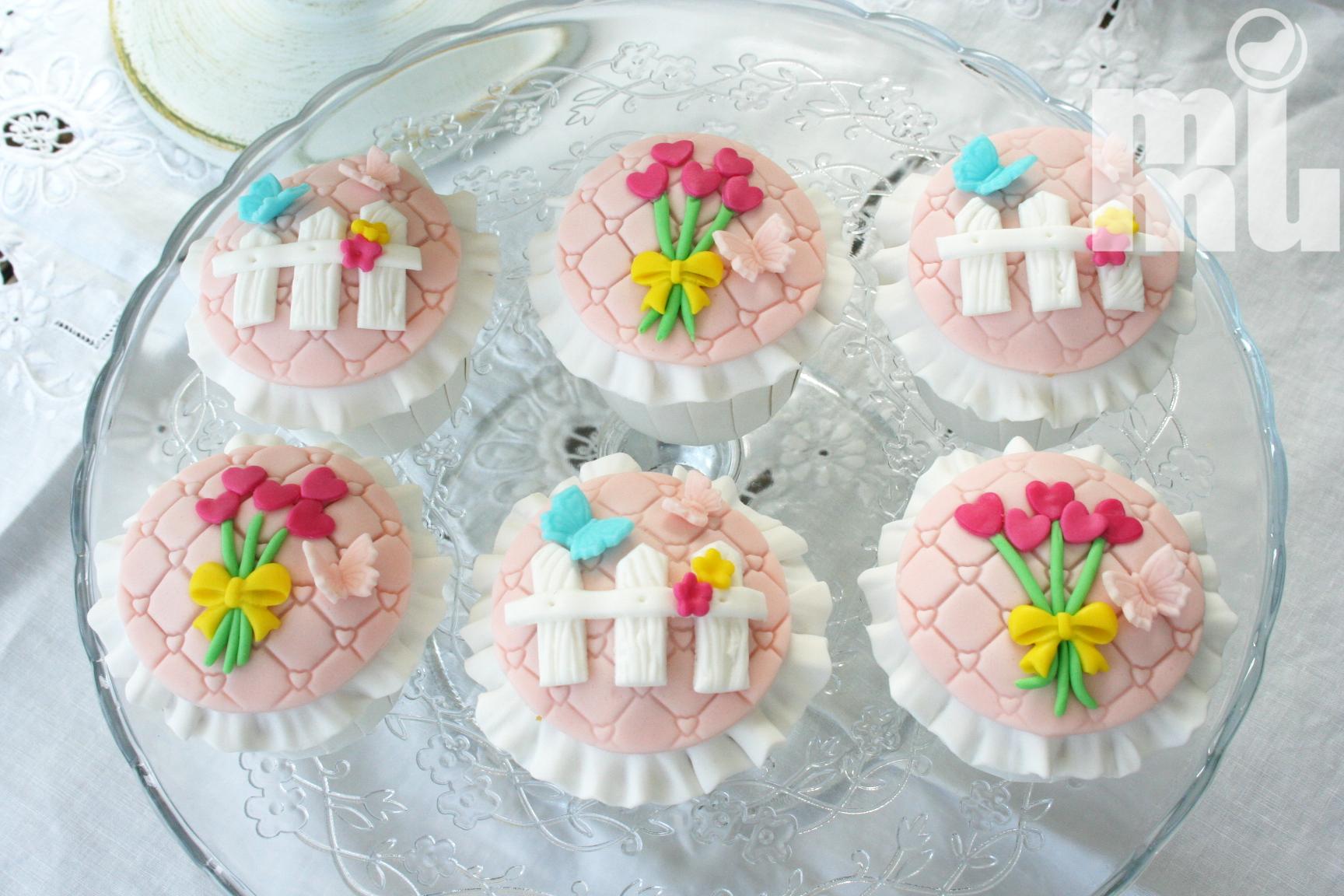 Cupcakes Jardim encantado