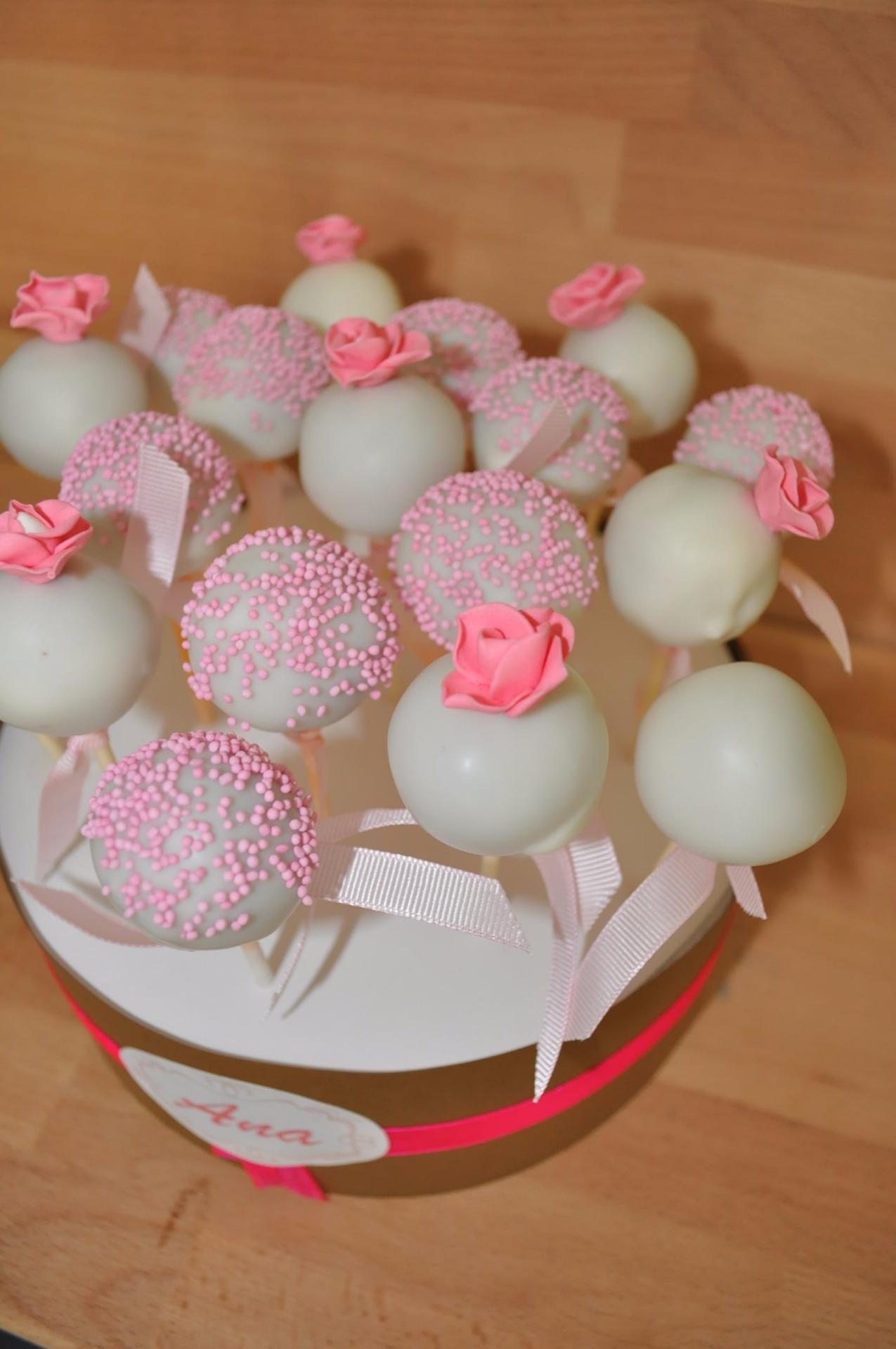 Cakepops Rosa