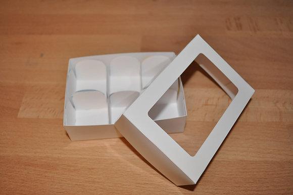 Caixa Lisa 10x7cm Aberta com divisórias