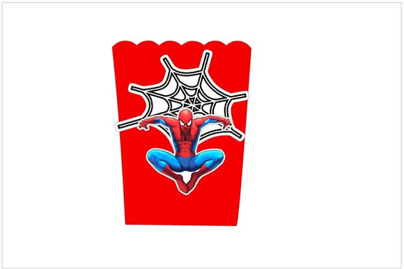 P044: 1 Pacote Pipocas 3D Homem Aranha