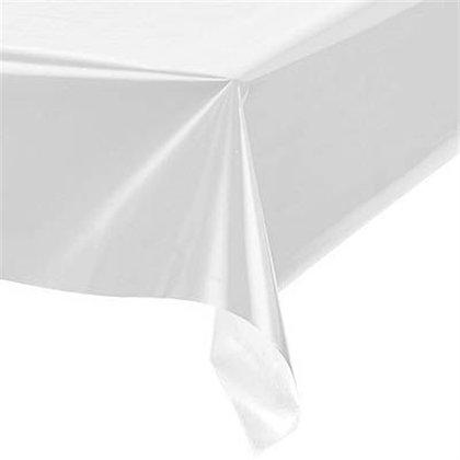 TO006: 1un toalha Mesa plástico Branca