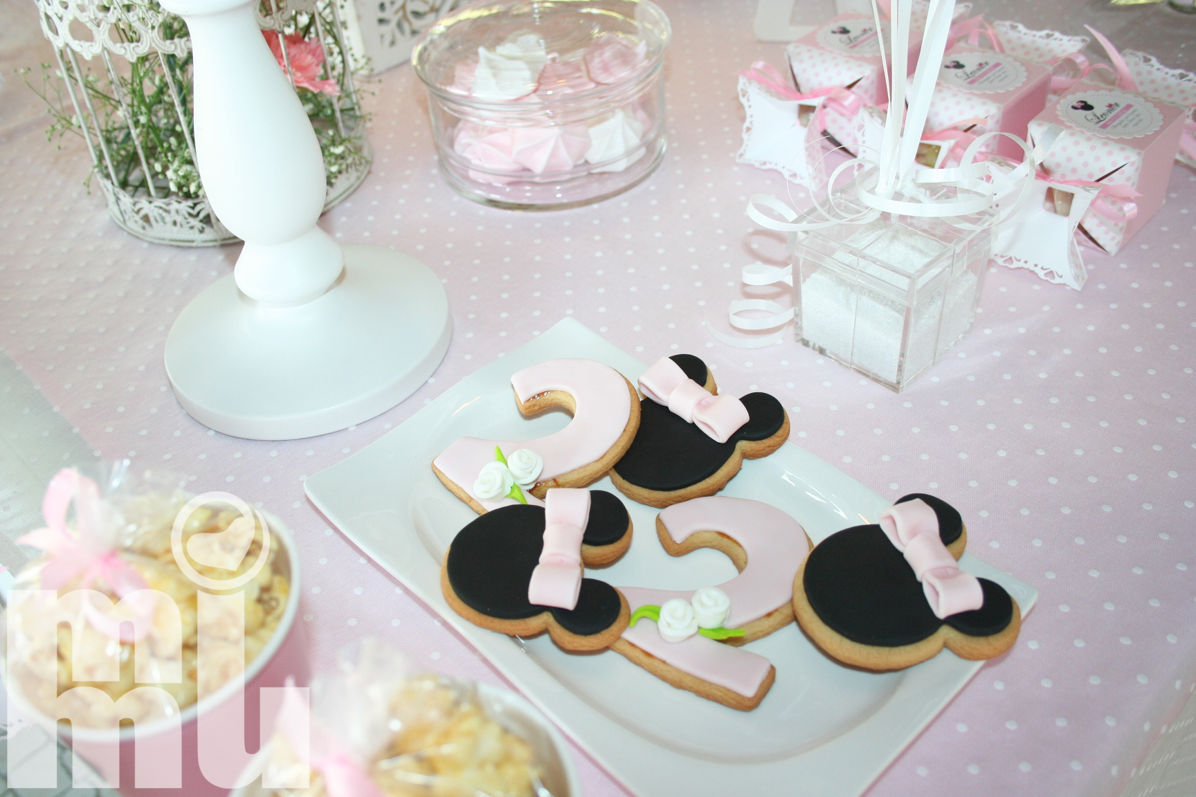 Bolachinhas decoradas minnie