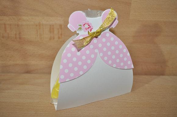 M030 - Caixa c/ gomas Vestido Princesa