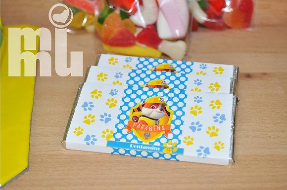 C012: 1 Chocolate PAW Ruble