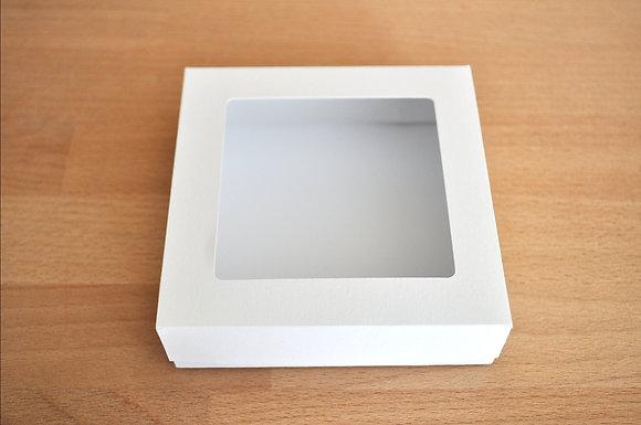 Caixa Lisa 10x10cm Aberta Quadrada