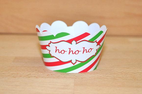 """Q013: 6 Cupcakes """"ho ho ho"""""""