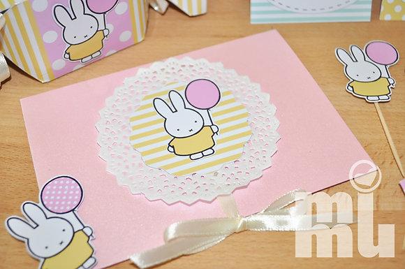 I036 - Convite Miffy
