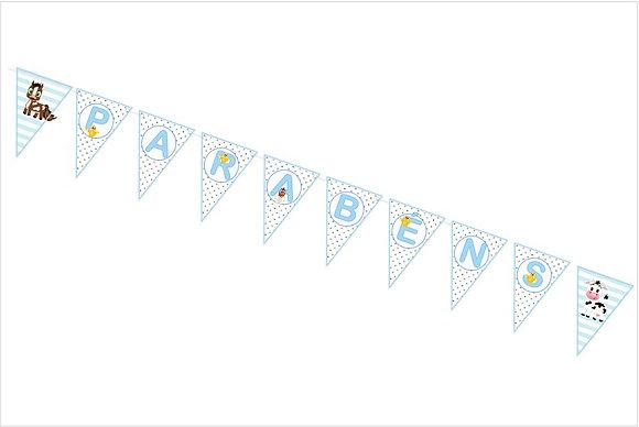 BP018: Bandeirola Personalizada Quintinha