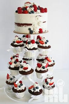 Bolo Casamento cupcakes