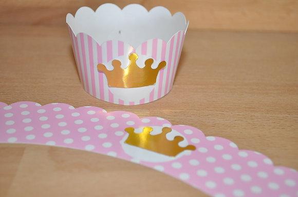Q053: 6 Cupcakes Warp Princesa