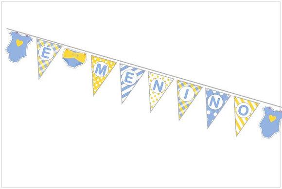 BP021: Bandeirinhas Parede Vários