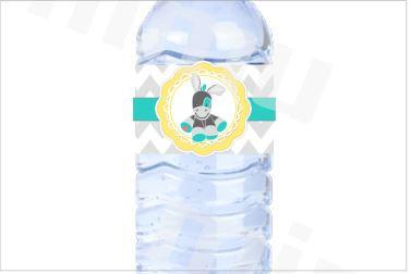SU020 - 1un Rótulo garrafa - Burrinho